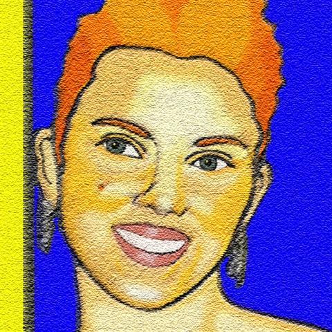 Scarlett Johansson par bodo